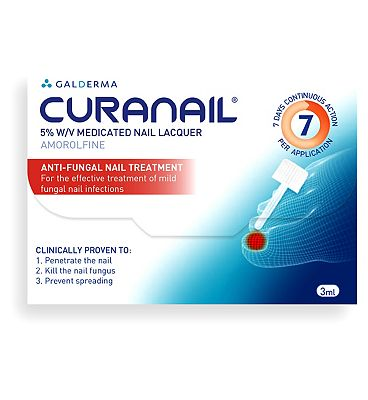 Curanail 5% Fungal Nail Treatment - 3ml