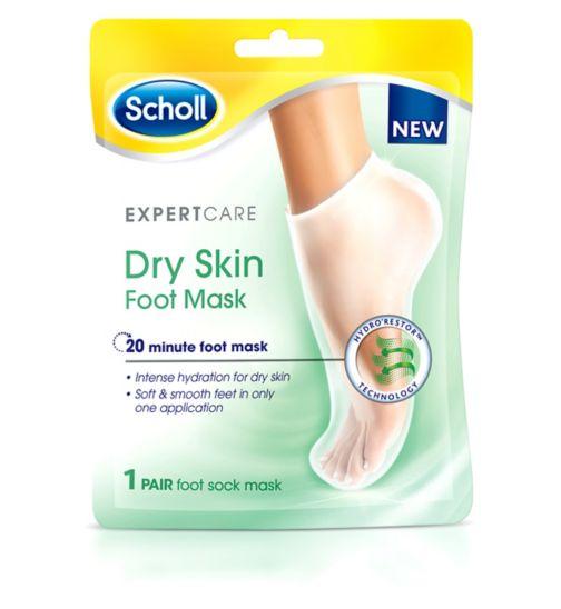 Scholl Expert Care Dry Skin Foot Mask - 1 Pair