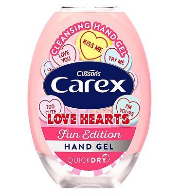 Carex Love Hearts hand gel 50ml