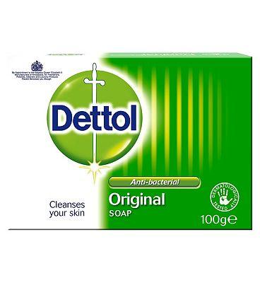 Dettol Anti-Bacterial Original Soap 100g