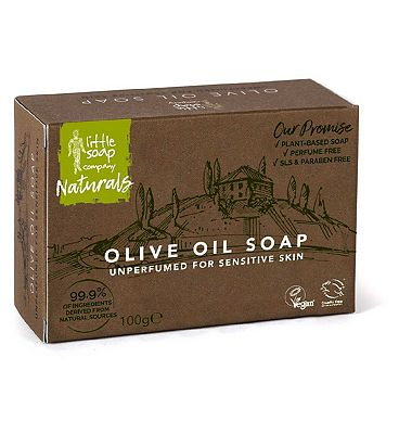 Little Soap Company Mediterranean Bar Soap Olive Oil 100g