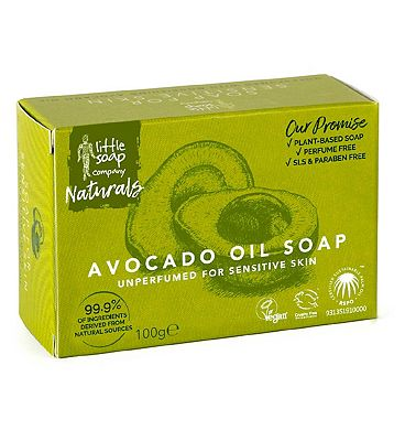 Little Soap Company Soap for Sensitive Skin with Avocado Oil 100g