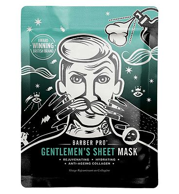 Barber Pro Gentleman's Sheet Mask