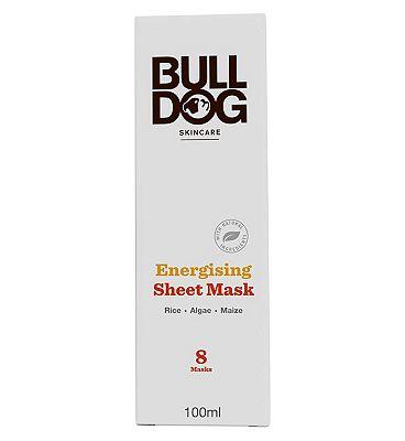 Bulldog Energising Bamboo Sheet Mask 100ml