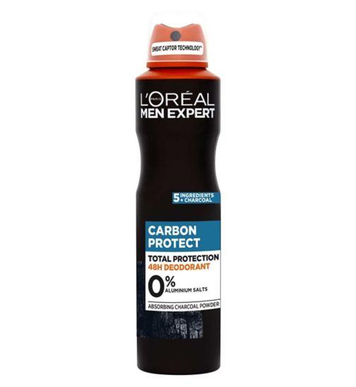 L'Oreal Men Expert Black Mineral Deodorant 250ml