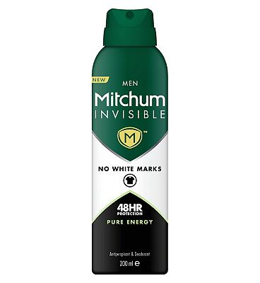 Mitchum Invisible Men Pure Energy Anti-Perspirant 200ml