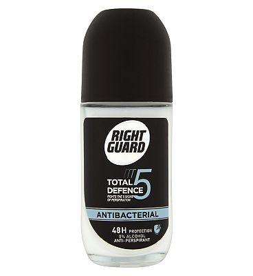 Right Guard Total Defence 5 Antibacterial Anti-Perspirant 50ml