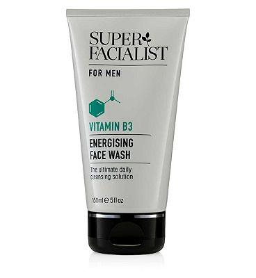 Super Facialist for Men Energising Face Wash 150ml