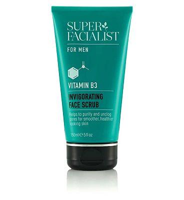 Super Facialist for Men Invigorating Face Scrub 150ml