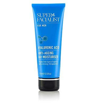 Super Facialist for Men Anti-Ageing Day Moisturiser 75ml