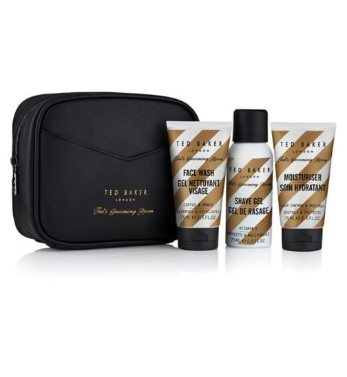 f5a1a42f795e7 Ted s Grooming Room Travel Trio Washbag Gift Set