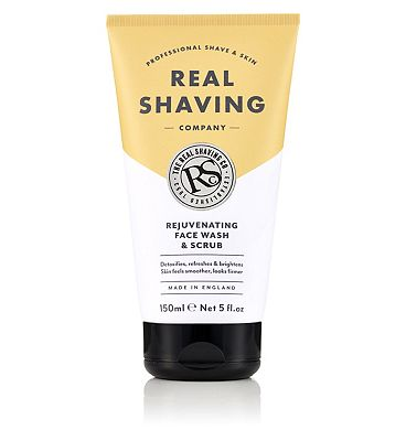 The Real Shaving Co. Rejuvenating Face Wash & Scrub 150ml