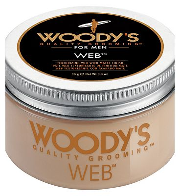 Woody's Texturising Web Hair Pomade 96g