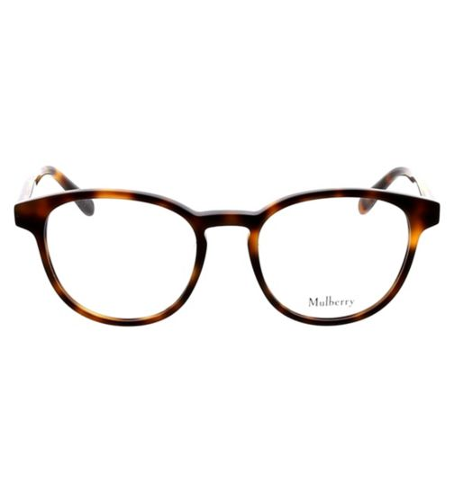 39c90a8f7ad Mulberry VML012 Womens Glasses - Tortois