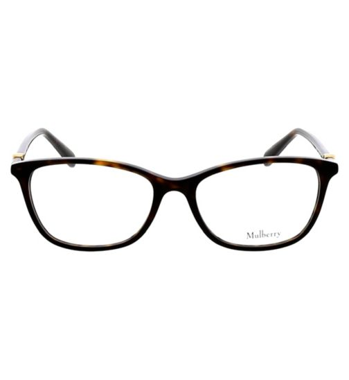 8227514ec23 Mulberry VML018 Womens Glasses - Dark Havana