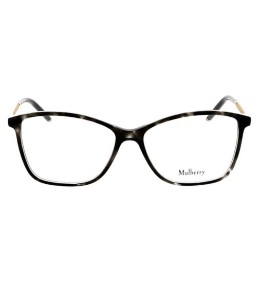 64d84be8093 Mulberry VML020 Womens Glasses - Black