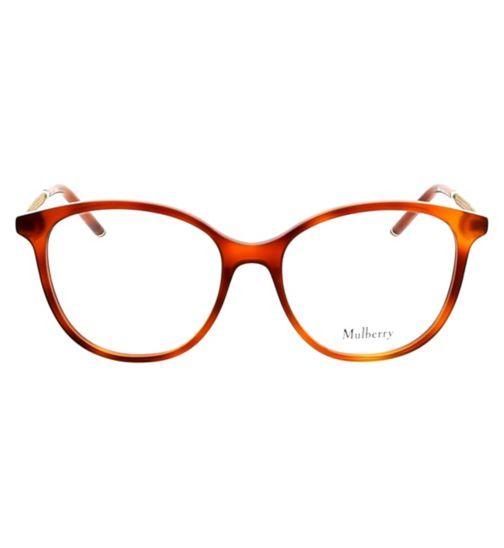 007d76d5e9 Mulberry VML021 Womens Glasses - Light Havana