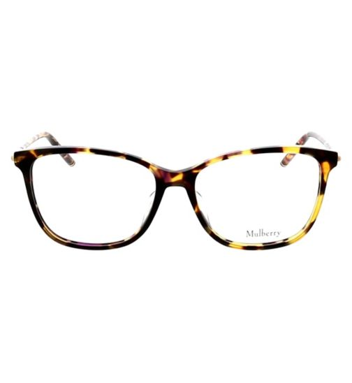 608aa80d9f3 Mulberry VML023 Womens Glasses - Tortoise Shell