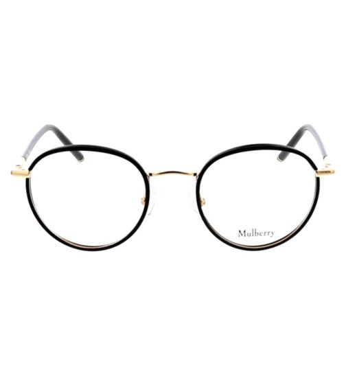 58ef17b0ae Mulberry VML024 Womens Glasses - Black