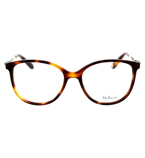 6ed1c56536ff Mulberry VML027S Womens Glasses - Tortoise Shell