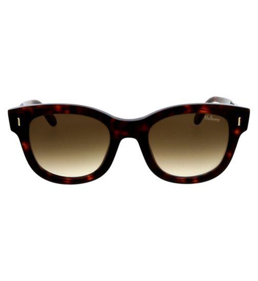 43cd6441b8 Mulberry SML002 Womens Sunglasses - Dark Havana