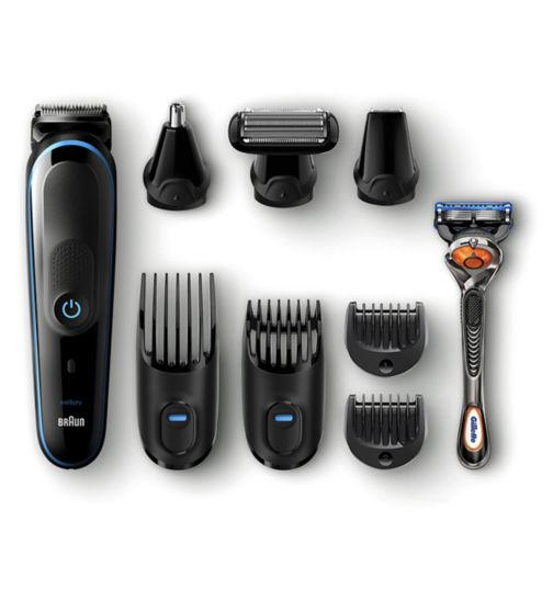Braun 9-in-1 All-in-one trimmer MGK5080 Beard Trimmer &