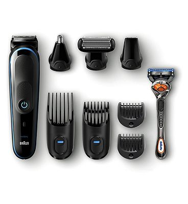 Braun 9-in-1 All-in-one trimmer MGK5080 Beard Trimmer & Hair Clipper, Body Groomer, Detail Trimmer