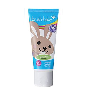Brush Baby Teething Toothpaste - Applemint - 50ml