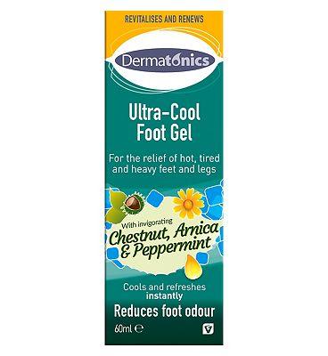 Dermatonics Ultra Cool Foot Gel - 60ml