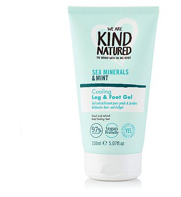 Kind Natured Cooling Leg & Foot Gel Sea Minerals & Mint- 150ml