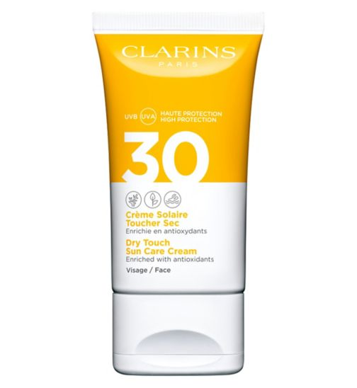 Clarins Dry Touch Sun Care Cream for Face SPF 30 50ml - Boots Ireland