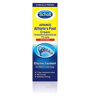 Scholl Advance Athlete's Foot Cream - 15g