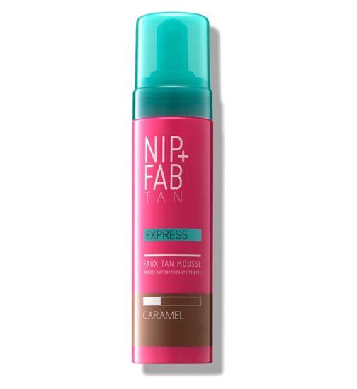 Nip+Fab Fake Tan Express Mousse Caramel 150ml
