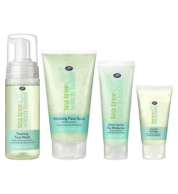 Tea Tree & Witch Hazel Cleansing Regime Kit