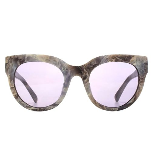 6cb115609c1 French Connection Premium Sunglasses Moden Cateyes Acetate Ladies Grey  Marble 26French ConnectionA045