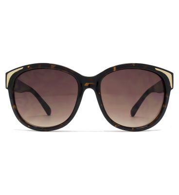 11788ceb746c Shoptagr | French Connection Ladies Sunglass Metal Inlay Detail ...
