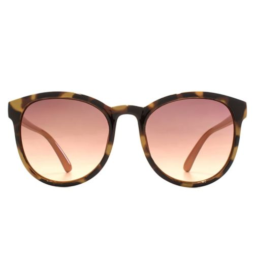 6acac3f719 French Connection Women Sunglasses Soft Preppy Plastic Demi Print 26FCU694