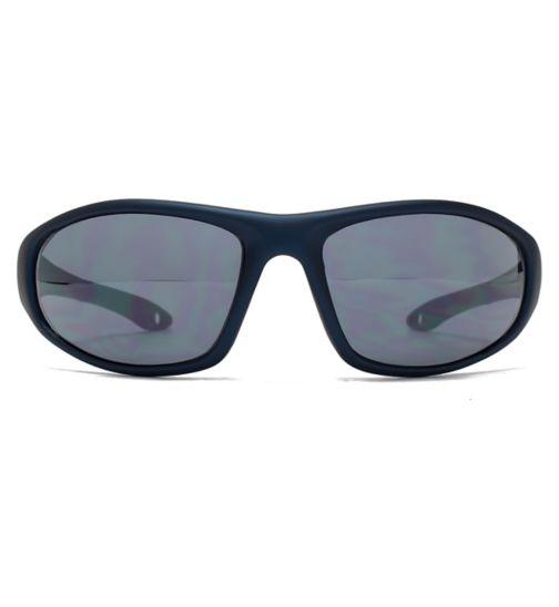 a753afada0cf Fcuk Sport Sunglass Sports Wrap Matt Dk Blue 26FCS014