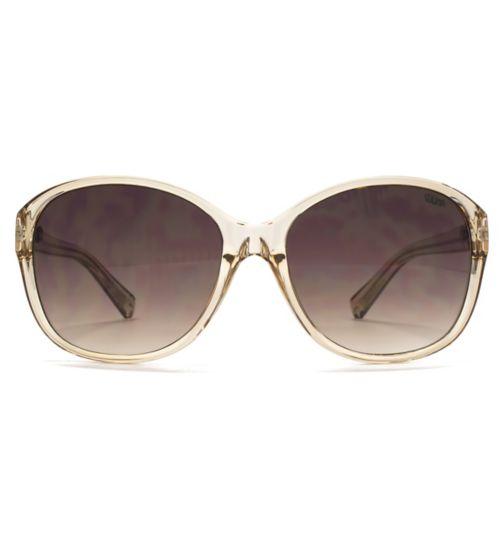 e012b3c27ac Suuna Womens Sunglass Fine Frame Plastic XTAL Mink 26SUU122
