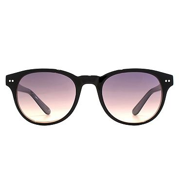 Whistles Sunglasses D-Frame Ladies Acetate Black 26WHS006-BLK