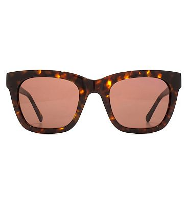 Whistles Sunglasses Classic Rectangle Ladies Acetate Tortoiseshell 26WHS002-TOR