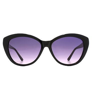 Whistles Sunglasses Ladies Cateyes Acetate Black 26WHS004-BLK