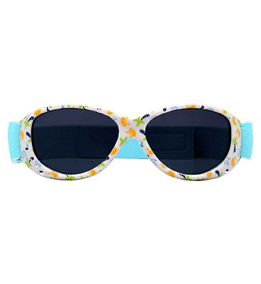Monkey Monkey Sunglasses Boys Baby Wrap Crystal Clear Mini Palm Print Q26MNK238