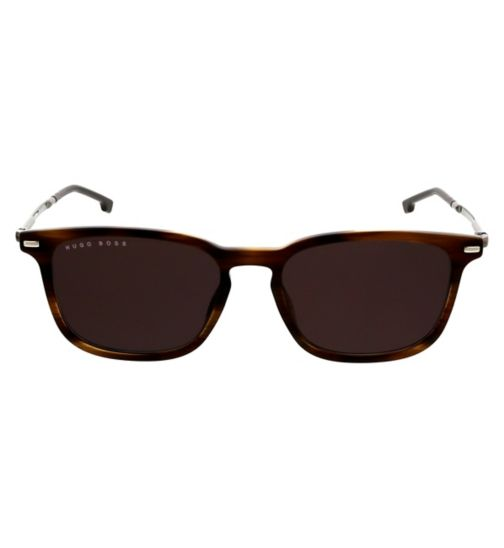 558b99f151f34 Hugo Boss Mens Sunglasses - Brown - BOSS 1020 S