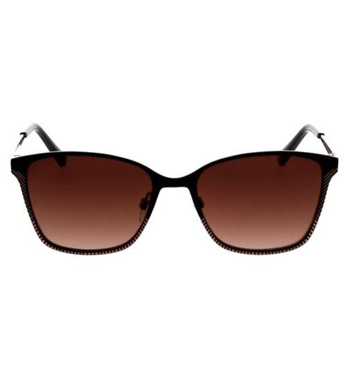 60549b8e4dc Ted Baker Womens Sunglasses - Black - TB1563 CERISE