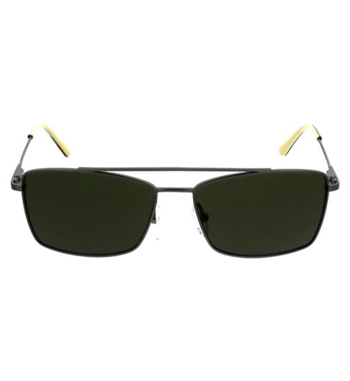 63a7bbdcb1ec CK Mens Sunglasses - Gunmetal - CK18117S