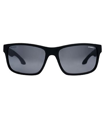 O'Neill Sunglasses Anso - Matte Black and Mirror Frame