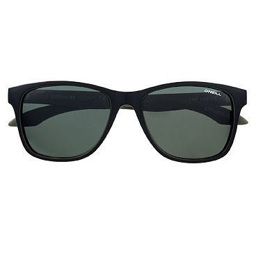 O'Neill Sunglasses Offshore - Gloss Tort and Solid Green Frame