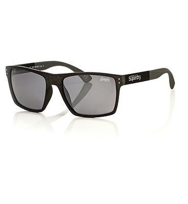 Superdry Kobe Sunglasses - Grey And Black Frame