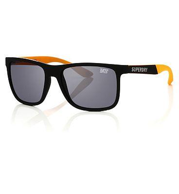 Superdry Sunglasses Runner - Black and Orange Frame